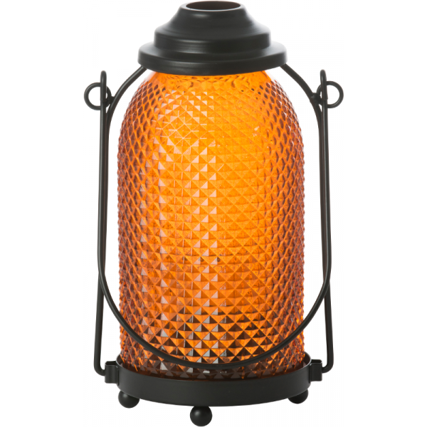 Lampášik  GLASS LANTERN ORANGE