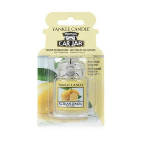 SICILIAN LEMON  CAR JAR ULTIMATE
