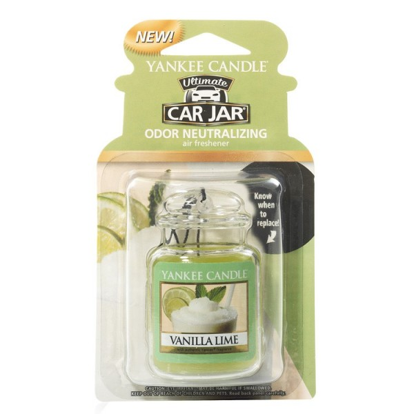 VANILLA LIME CAR JAR ULTIMATE