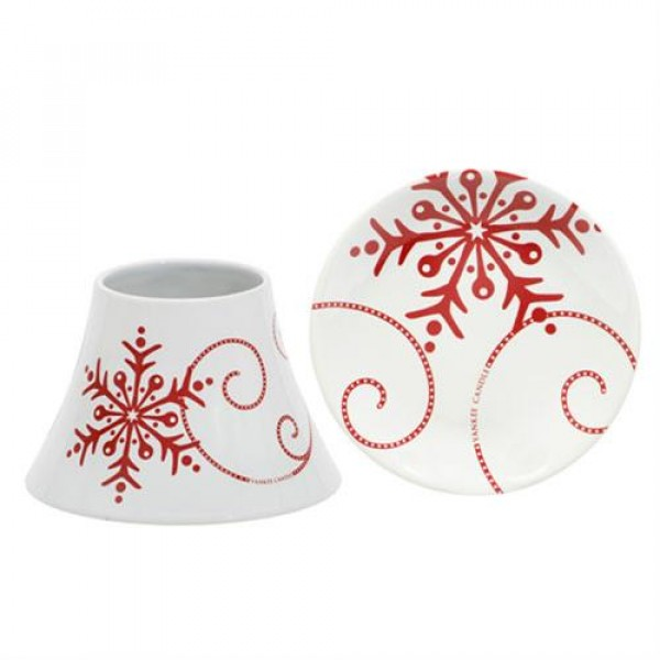 Malý set SNOWFLAKE CERAMIC