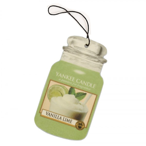 VANILLA LIME CAR JAR